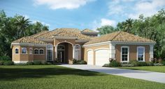 The beautiful Santa Maria home. Part of the Elite Collection at Palencia. #DreamHome #Palencia #Lennar
