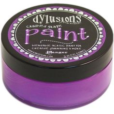 A personal favorite from my Etsy shop https://www.etsy.com/listing/249038555/dylusions-paint-dylusions-grape-purple