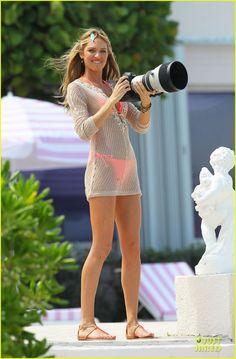 Erin Heatherton & Candice Swanepoel: Bikini Bods in Miami!