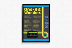 Top 40 One-Hit Wonder Poster on Behance