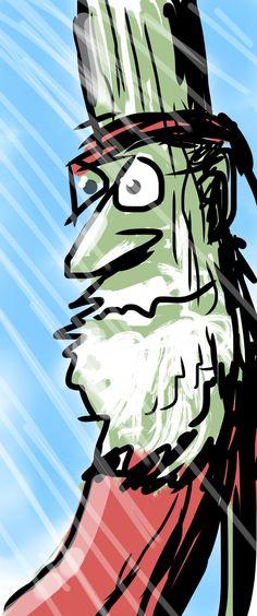 Doug-Fir dreaming of livin' a colorful life.