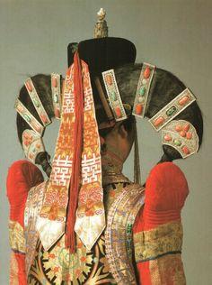 Mongolian headdress - Queen Amidala's inspiration