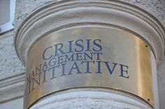 Crisis Management Initiative (CMI) Finnish President Martti Ahtisaari founded in 2000.
