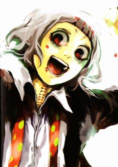 Tokyo Ghoul Juuzou Oh okay that's him name he cute
