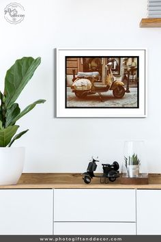 Vespa Photoshoot - Fine Art Photography - Photo Gift and Decor
