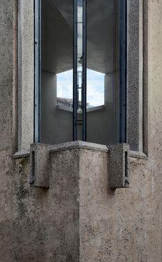 Carlo Scarpa. Expansion of the Canova Plaster Cast Gallery. Possagno, Treviso, Italy. 1957