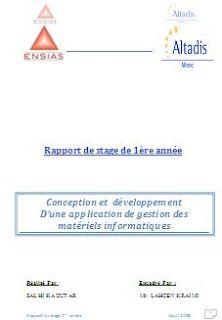 Télécharger Cet Conception Et Developpement Dun Logiciel De Gestion