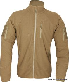 b03f6b3b926e Viper Tactical Fleece Jacket - Coyote