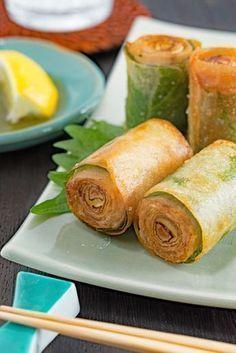 Pin on お料理 Asian Recipes, Healthy Recipes, Ethnic Recipes, Easy Cooking, Cooking Recipes, Exotic Food, Tempura, No Cook Meals, Food Inspiration
