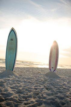 Sun, Sand, & Surf(boards)