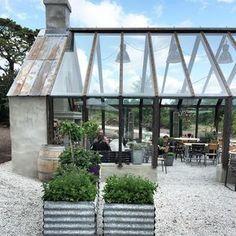 Amazing Minimalist Indoor Zen Garden Design Ideas ~ Summer House ~ The poolside retreat of Bibury Court, on the edge of the Cotswold village! Pergola Diy, Pergola Plans, Modern Pergola, Pergola Carport, Steel Pergola, White Pergola, Outdoor Rooms, Outdoor Living, Outdoor Cafe