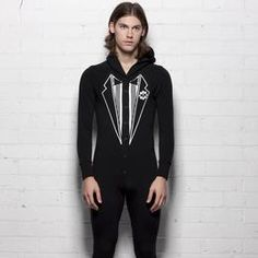 5a703836df tuxedo long johns!! I knew someone would do this! Righteous! Long Johns
