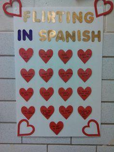 FEBRERO - Flirting in Spanish - SAN VALENTÍN