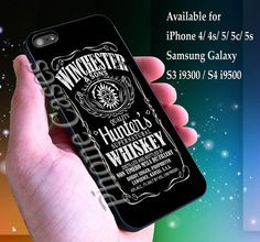 Supernatural quote art whiskey funny  aps for iPhone by gloryroads