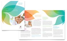 Marriage Counseling Brochure Template Design by StockLayouts