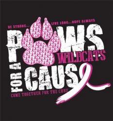 Pink Out T shirt Design by We Got Spirit Tees Cheerleading Shirts, School Cheerleading, Cheer Shirts, Dance Shirts, Team Shirts, School Spirit Days, School Spirit Shirts, School Shirts, Breast Cancer Shirts