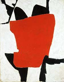 Roger Hilton Title February 1954 Date 1954 Medium Oil paint on canvas Dimensions support: 1270 x 1016 mm frame: 1288 x 1035 x 38 mm Collection Tate Action Painting, Painting & Drawing, Peter Wood, Tate St Ives, Patrick Heron, Tate Gallery, Art History, Abstract Art, Abstract Paintings