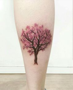 Ideas tattoo elephant rose cherry blossoms for 2019 Trendy Tattoos, New Tattoos, Tatoos, Tattoo Aquarelle, Cherry Tree Tattoos, Blossom Tree Tattoo, Natur Tattoos, Tree Tattoo Designs, Elephant Tattoos