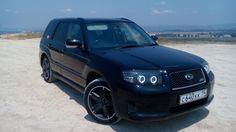 Subaru Forester (SG) чОрный атмосферник