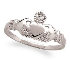 Claddagh Sisters Ring represents loyalty friendship and love. My mother gave me one 4 years ago. I wear it every day.