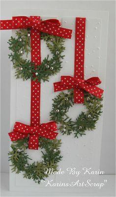 KarinsArtScrap: Christmas Wreaths
