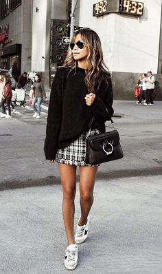 Schoolgirl chic is in