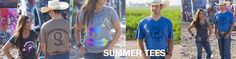 Have you checked out all the great tees we've got? Get yours before summer slips away! Shop today at wwww.quarterhorseoutfitters.com