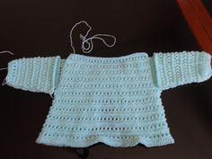 Casa da Salete: Casaquinho de trico ( blog da amiga )