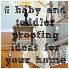 Ten June: Baby And Toddler Proofing Ideas For Your Home
