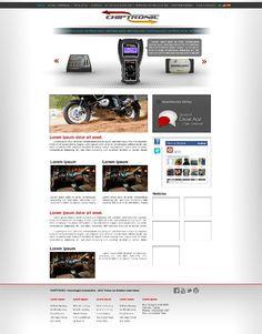 Layout Site Chiptronic Padronizado