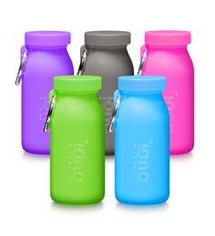 Bubi Silicone Water Bottle, 14 oz