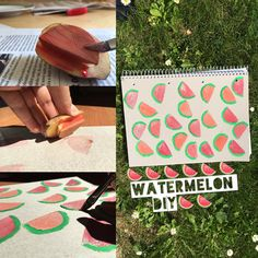Watermelon Diy❤#DIY #backtooschool
