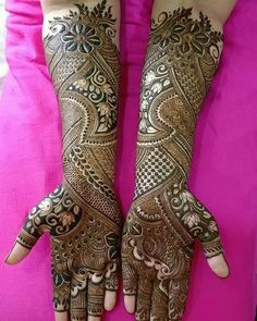 Henna Design By Fatima Henna Hand Designs, Basic Mehndi Designs, Mehndi Designs Finger, Traditional Mehndi Designs, Indian Henna Designs, Mehndi Designs For Girls, Mehndi Designs 2018, Mehndi Design Pictures, Mehndi Images