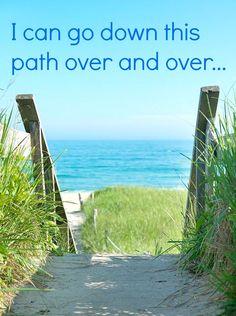 Path to the beach...