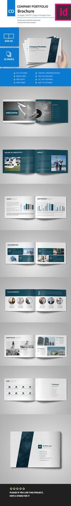 Flyer brochure design, business flyer size A4 template, creative - company portfolio template
