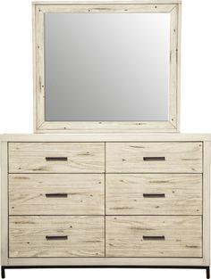 Dayana 6 Drawer Dresser