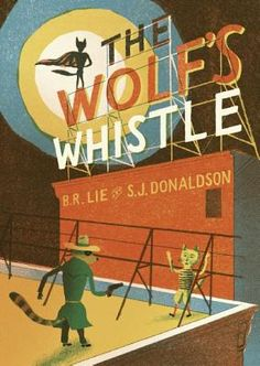 """Simone says, """"A visually intriguing re-imagining of the tale of the three little pigs, with the wolf as the triumphant underdog. Nobrow Press is turning out splendid high-quality books filled with innovative graphics and clever tales. This one will be appreciated by adults and younger readers alike."""""""