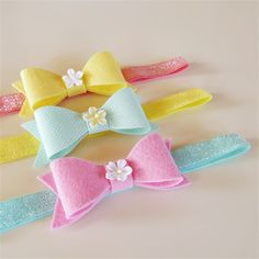 Summer Gelato Headband Set