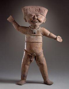 Standing Male Figure  Mexico, Veracruz, Remojadas region, Remojadas, 600-900  LACMA