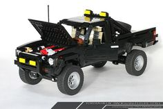Totally awesome back to the future Lego truck.