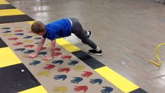 """I love this mat I recently bought from US Games. I added it to this weeks """" Ninja training courses""""! I can use it with all of my students in grades Pre-K thr..."""