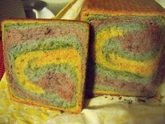 Lunches Fit For a Kid: Recipe: Rainbow Pain De Mie