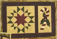primitive wool applique patterns | Primitive Folk Art Quilt/Wool Applique Pattern: By ... | QUILT PRIMI ...