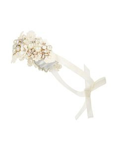 Statement Pearl Embellished Bando   Ivory   Accessorize
