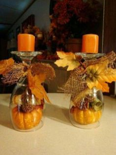 Types Of Thanksgiving Decorations Table Dollar Stores Fall Decorating 65 Diy Fall Wreath, Fall Diy, Fall Wreaths, Thanksgiving Decorations Outdoor, Fall Decorations, Diy Thanksgiving, Thanksgiving Centerpieces, Table Centerpieces For Home, Candle Centerpieces