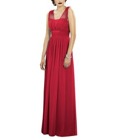 DescriptionDessy Collection Style 2890Full length bridesmaid dressVnecklineMatte satin bodice and waistbandLux chiffon