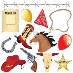 free cowboy clip art