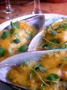 Herkkusuun lautasella-Ruokablogi: Vihreät sahramisimpukat