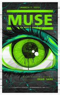 The Art & Design of Amelia LeBarron - The Blog - MUSE POSTER
