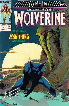 MARVEL COMICS PRESENTS # 8<>WOLVERINE / IRON MAN / MASTER OF KUNG FU<>vf+(8.5)~~